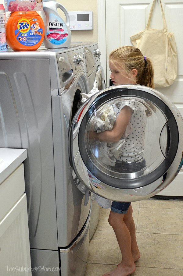 Teach Your Kids To Do Laundry