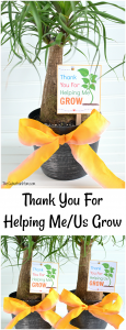 Thank You For Helping Me Grow Free Printable