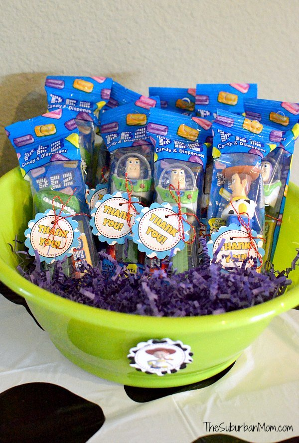 Toy Story Party Favor Gift Tags