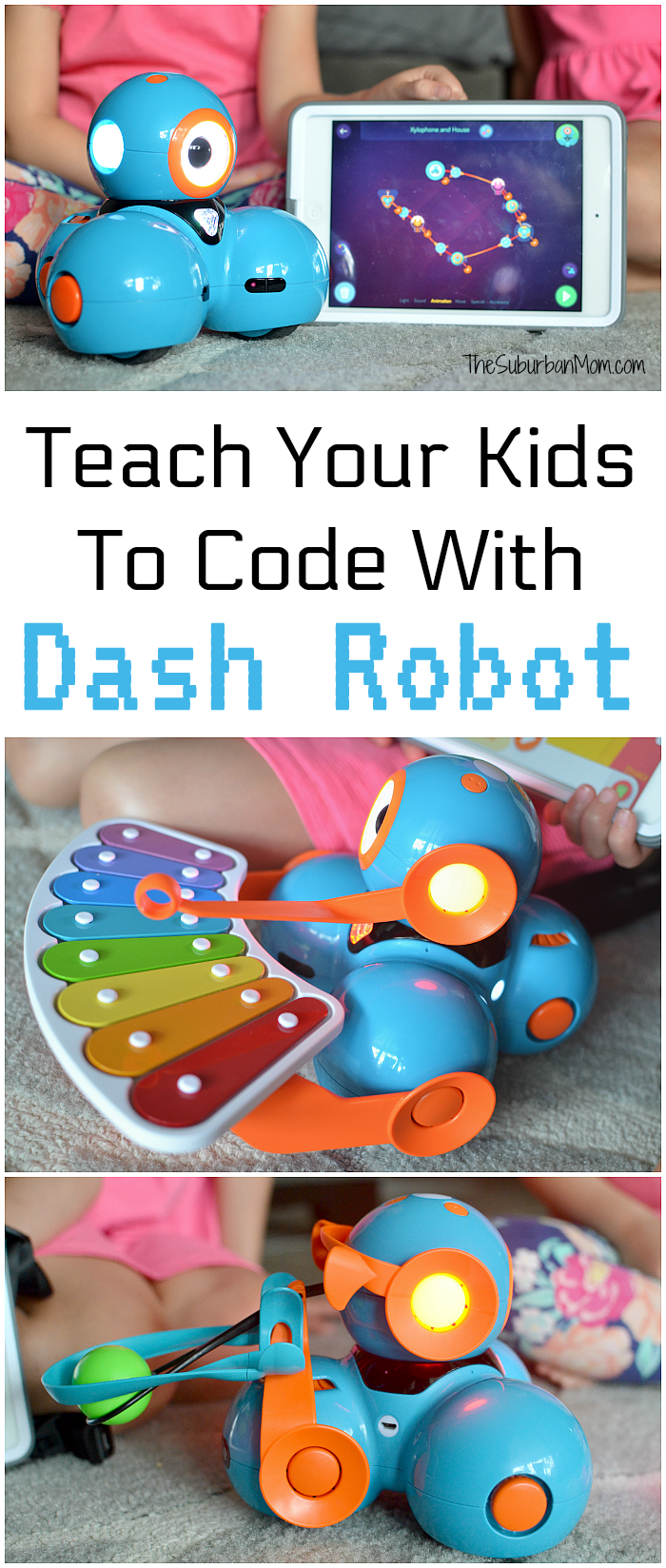 Teach Your Kids Code With Dash Robot