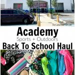 Academy Sports Back To School