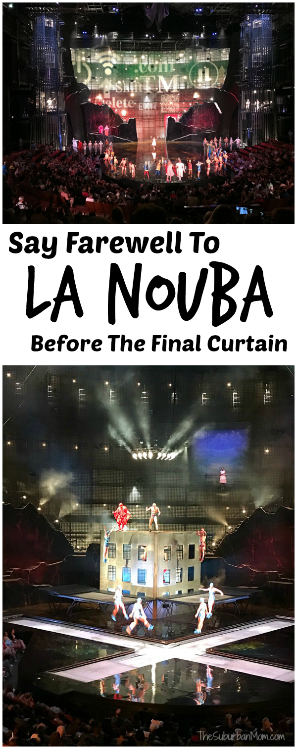 Farewell to La Nouba Disney Springs