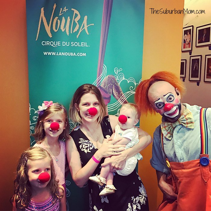La Nouba Clowns