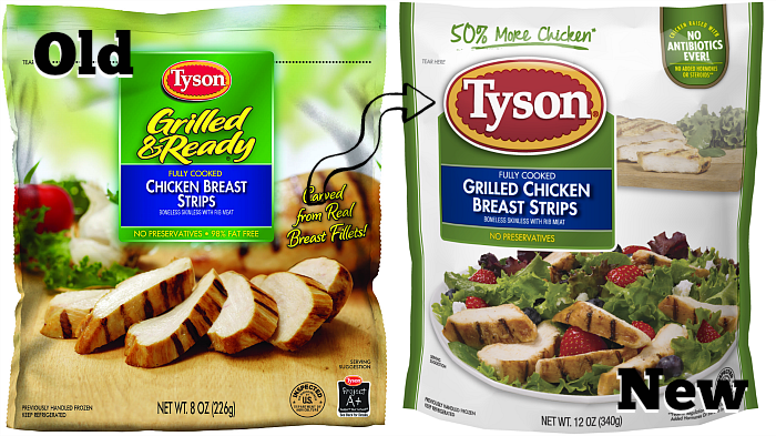 Tyson Refrigerated Fully Cooked Chicken
