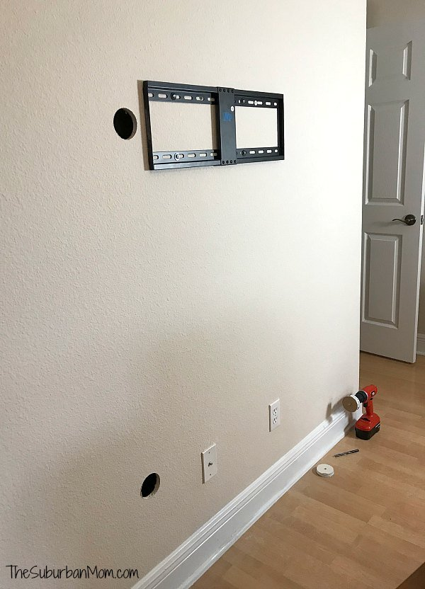Installing Legrand TV Mount