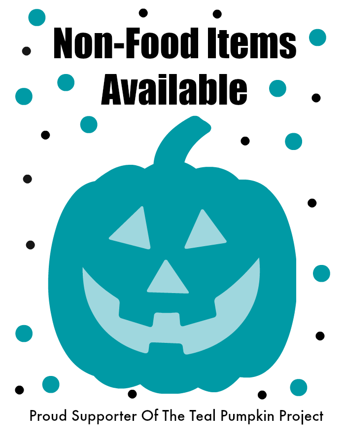 Teal Pumpkin Project Printable Sign