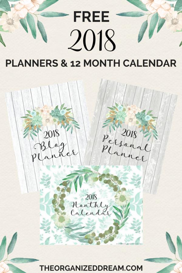 Free-2018-Planners-Calendar