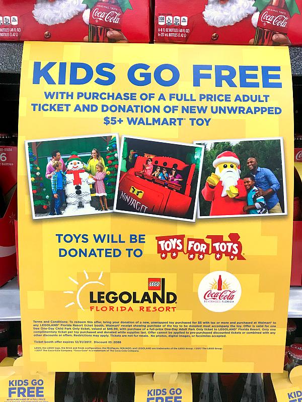 Free Kids Ticket to Legoland