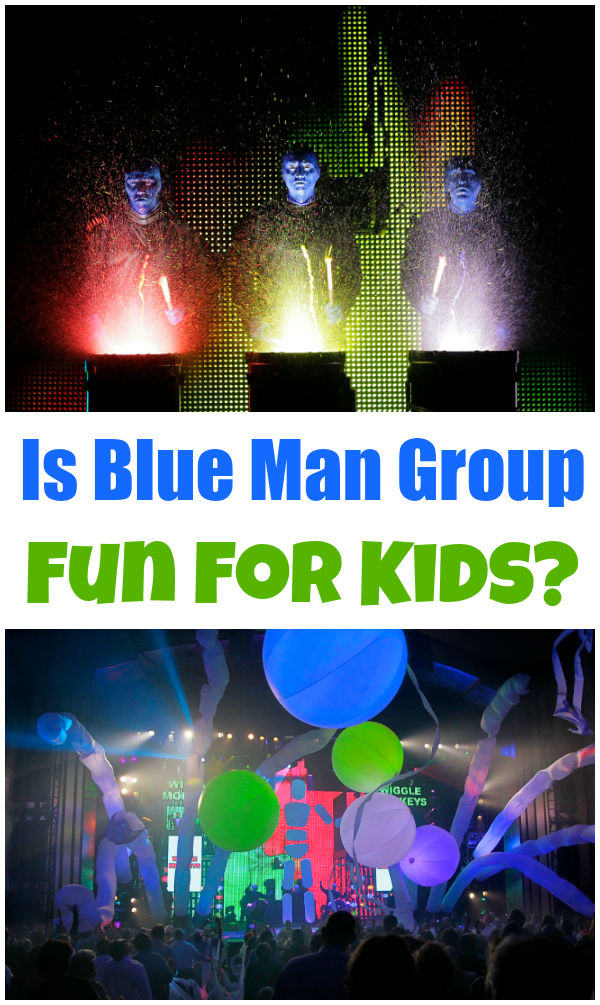 Kids Blue Man Group Orlando Review
