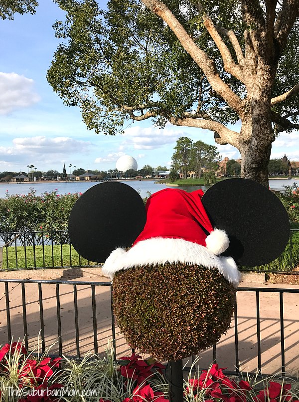 Mickey Santa Epcot