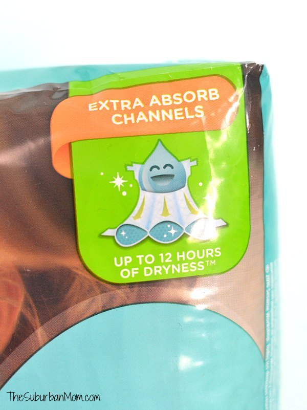 Pampers Baby Dry Extra Absorb Channels