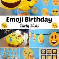 Emoji Birthday Party Ideas – Free Printables, Decorations, Food And More