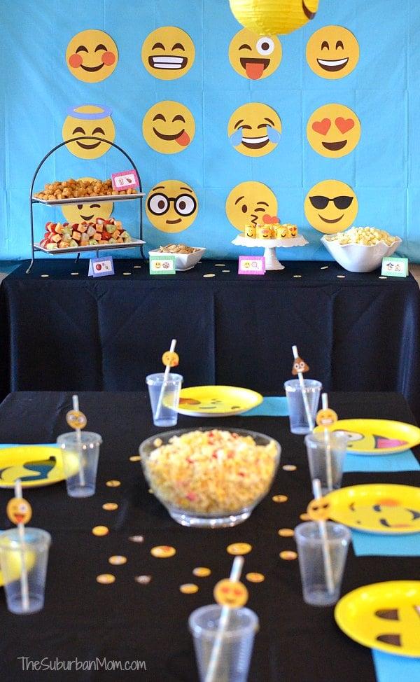 Emoji Birthday Party Ideas Free Printables Decorations