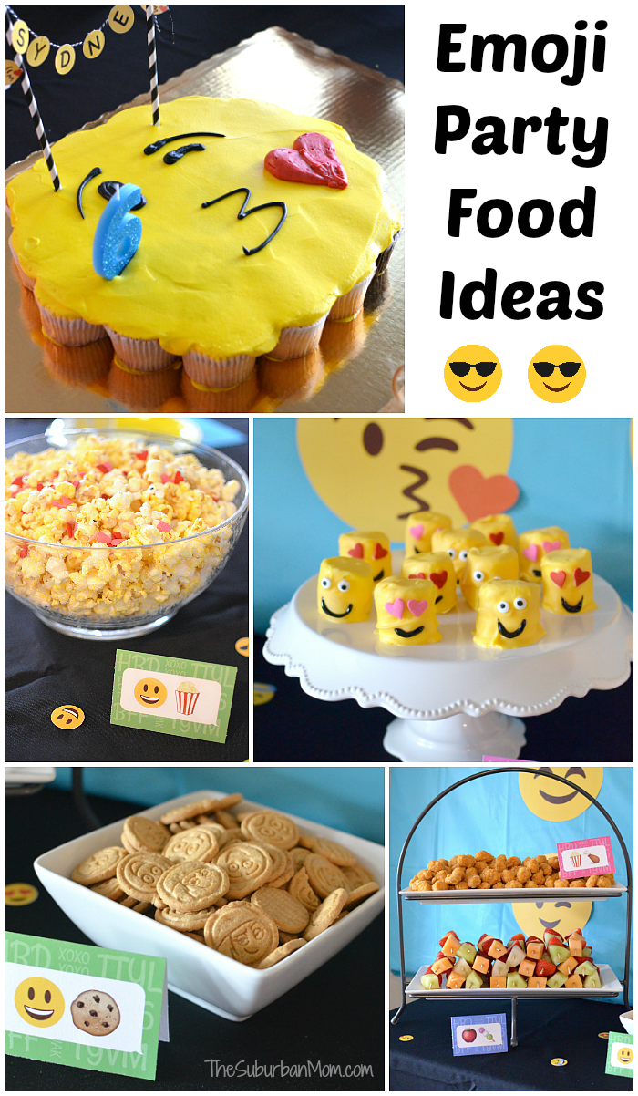 Emoji Party Food Ideas