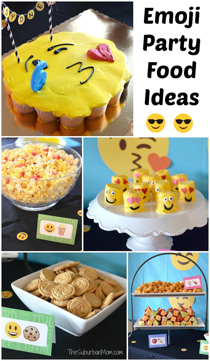 Emoji Decorations For A Birthday Party  from www.thesuburbanmom.com