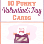 10 Free Punny Valentine's Day Cards Printables