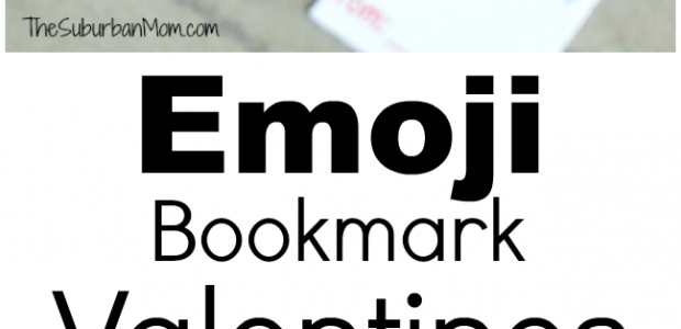 Emoji Bookmark Valentines Day Cards