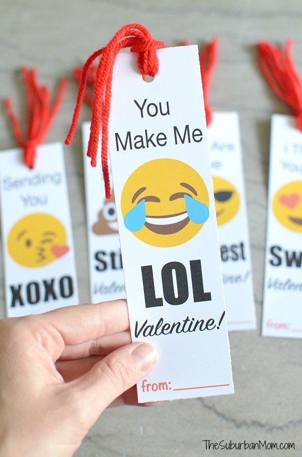 LOL Emoji Valentine's Day Card