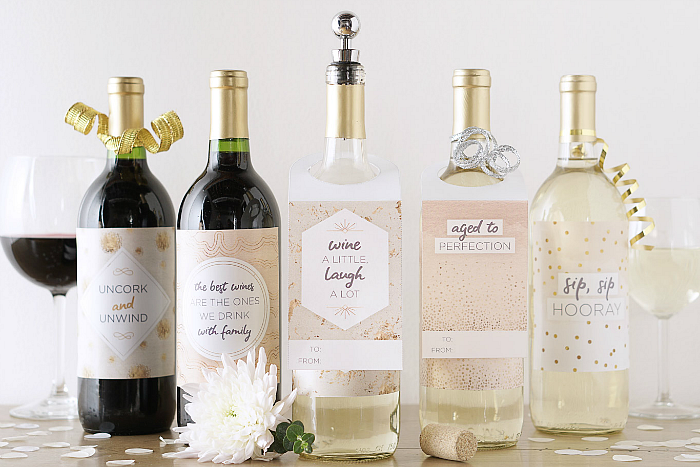 Printable Wine Tags