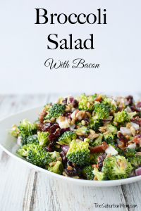 Broccoli Salad With Bacon