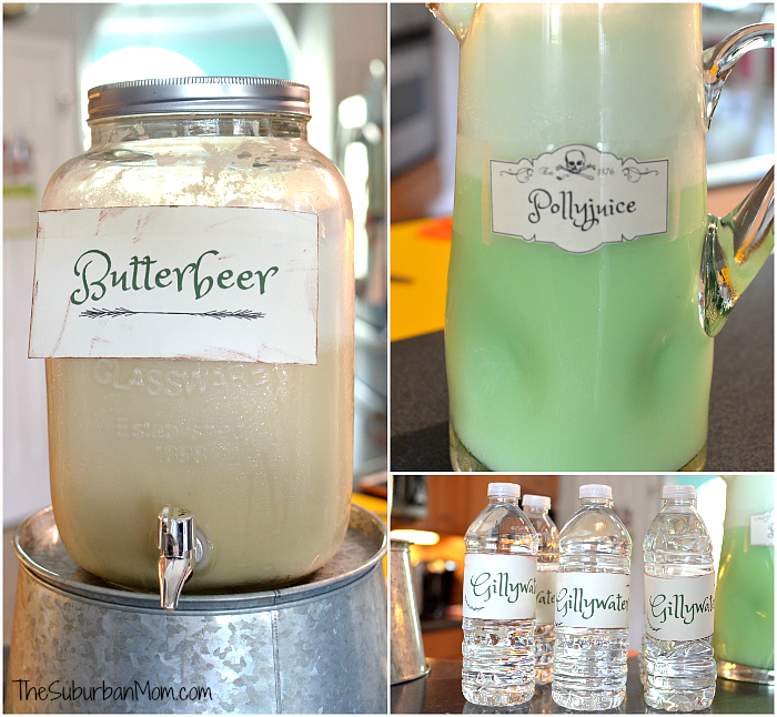 Butterbeer Pollyjuice Potion Gillywater