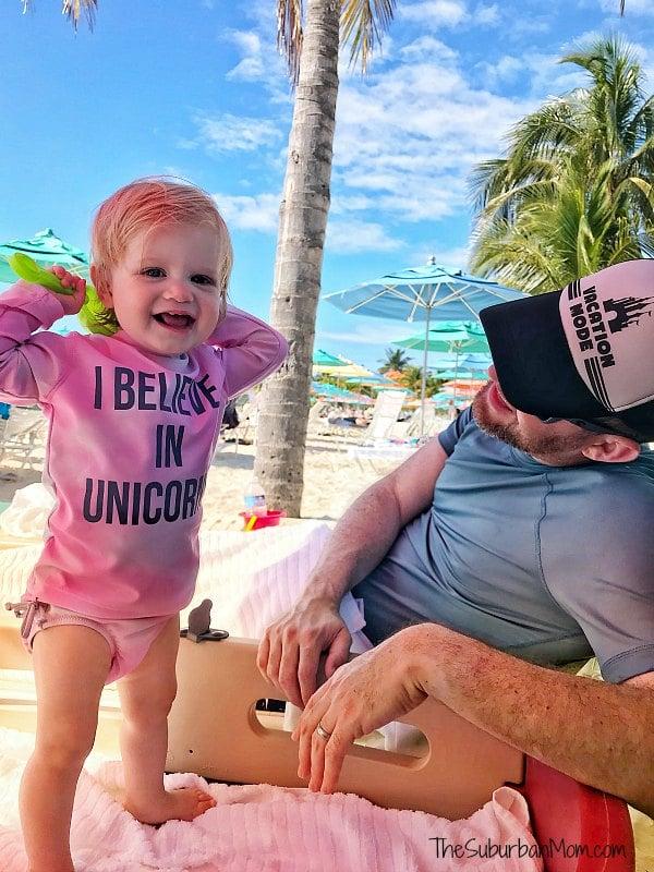 Castaway Cay Beach Baby