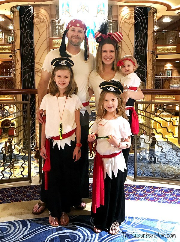 Disney Cruise Family Pirate Night Costume
