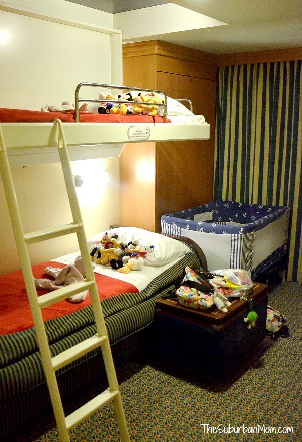Disney Cruise Kids Bed