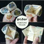 Harry Potter Fortune Teller Printable And Tutorial