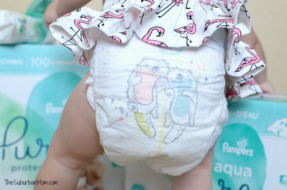 Pampers Pure Diaper Designs