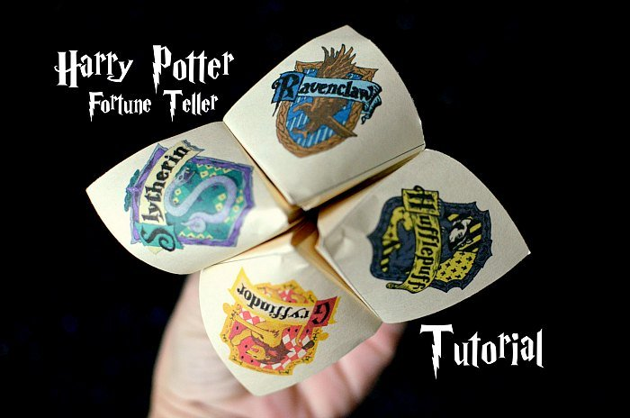 Harry Potter Fortune Teller Tutorial