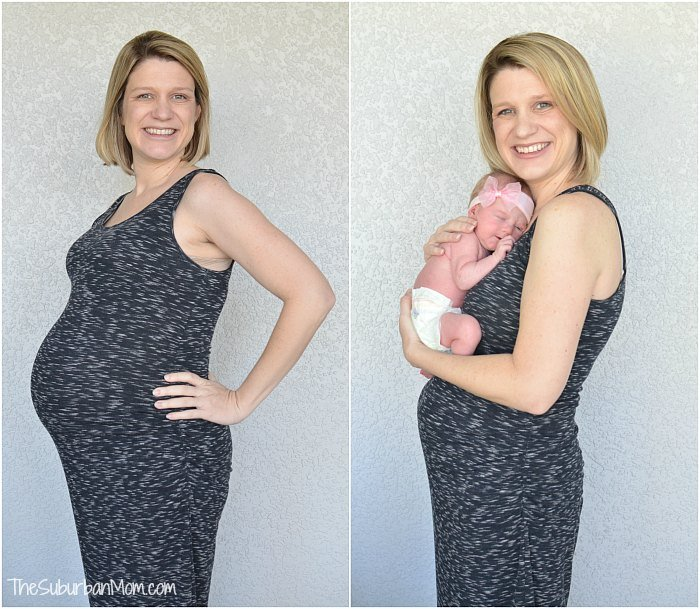 Pregnancy Before After Photo
