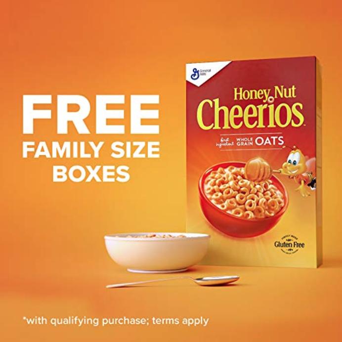 Free Cheerios Amazon Prime Day