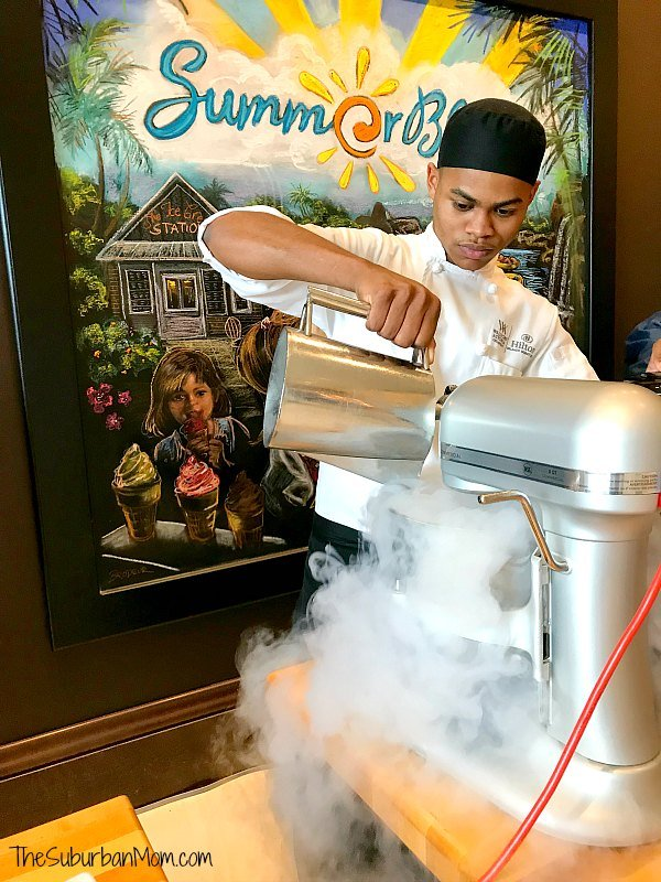 Hilton Orlando Bonnet Creek Ice Cream Social