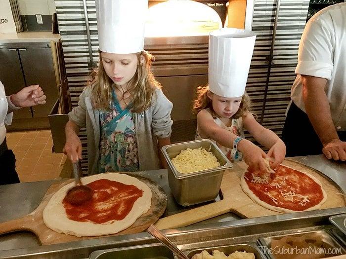 La Luce Kid Pizza Chefs