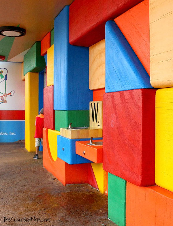 Toy Story Land Building Blocks Wall