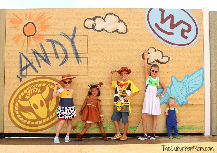Toy Story Land Cardboard Fence