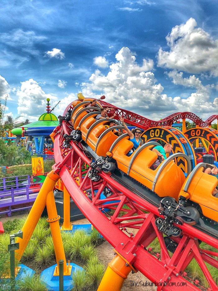 Toy Story Land Slinky Dog Rollercoaster