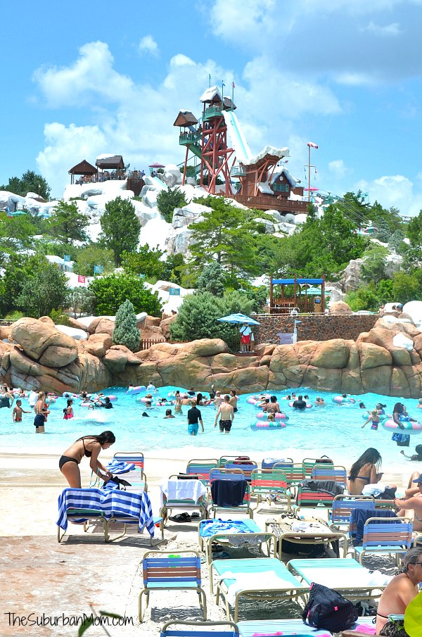 Disney Blizzard Beach Melt Away Bay