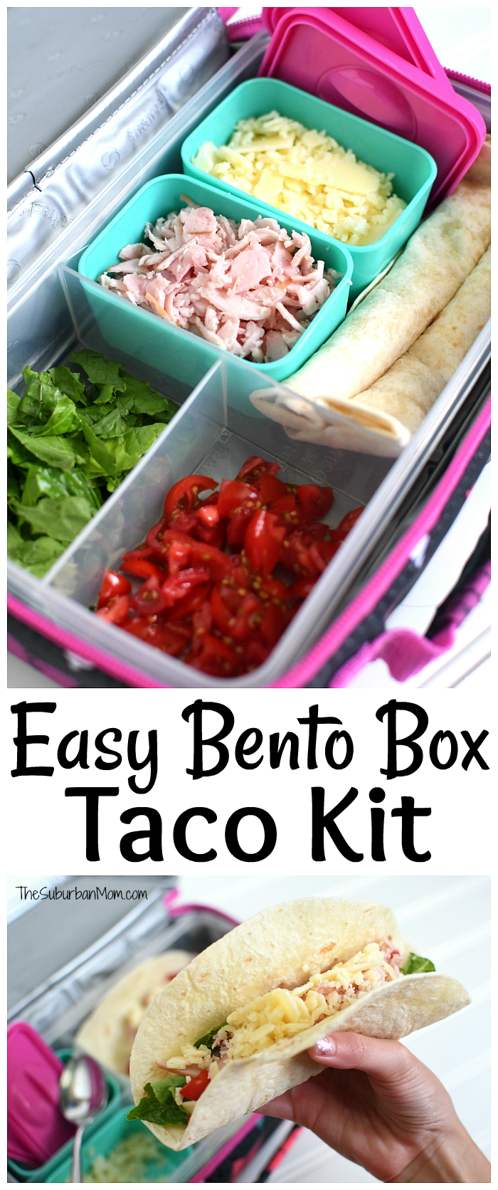 Easy Bento Box Taco Kit