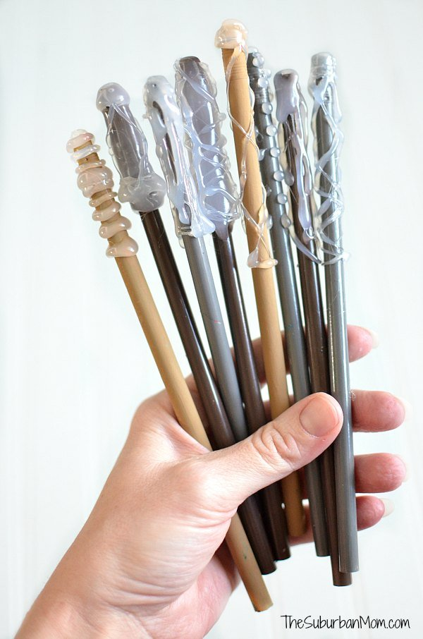How To Make Harry Potter Wand Pencils