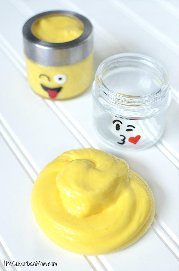 Yellow Emoji Slime