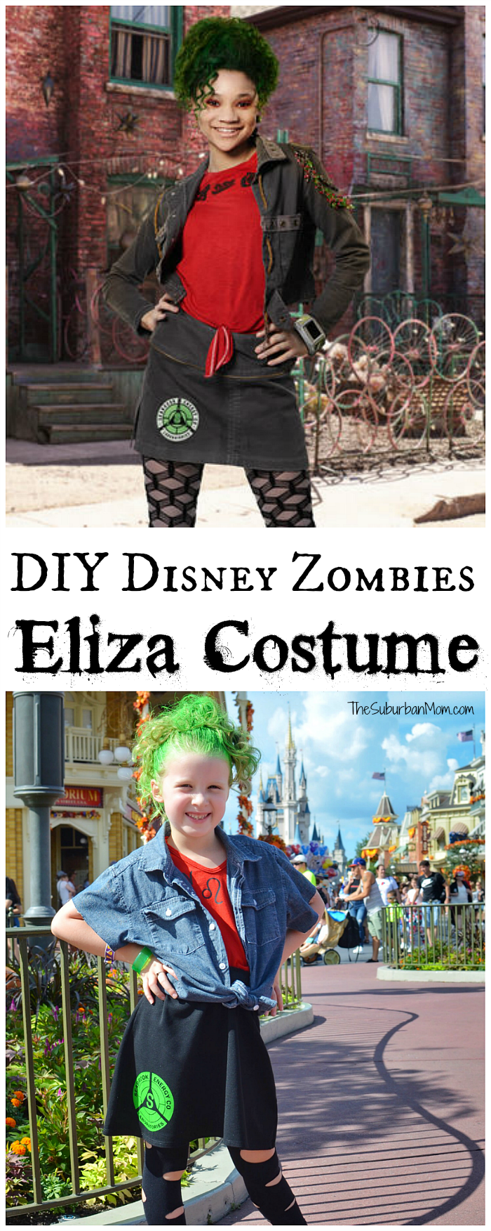DIY Disney Zombies Costume Eliza
