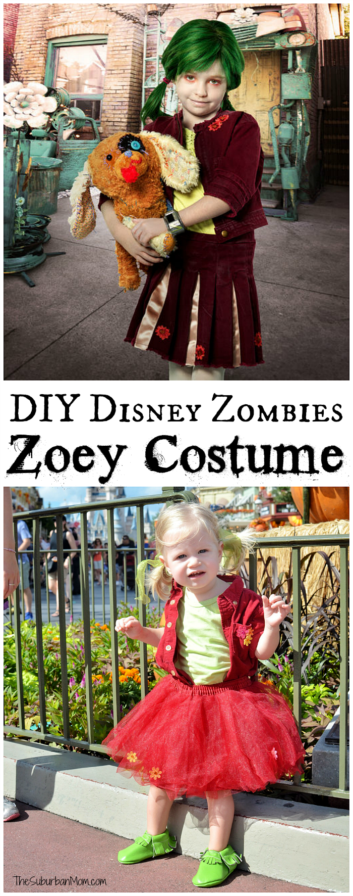 DIY Disney Zombies Zoey Costume