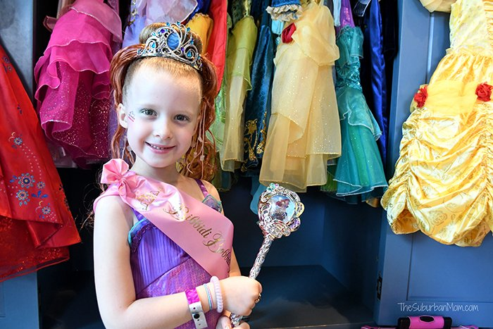 Princess Makeover Bibbidi Bobbidi Boutique