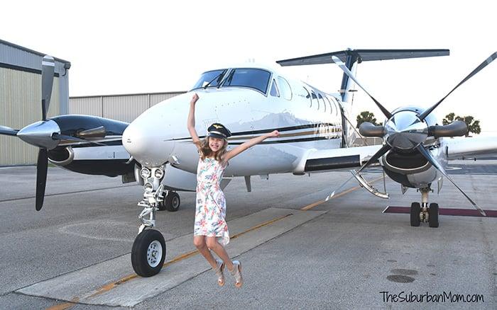 Private Jet Junior Pilot