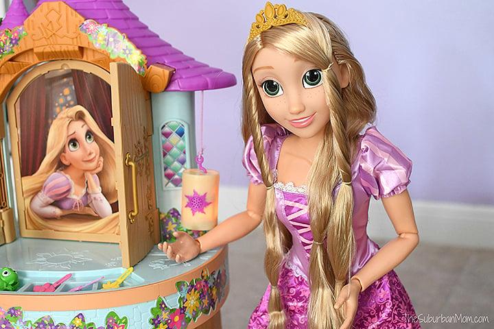 Playdate Rapunzel and Tower Vanity