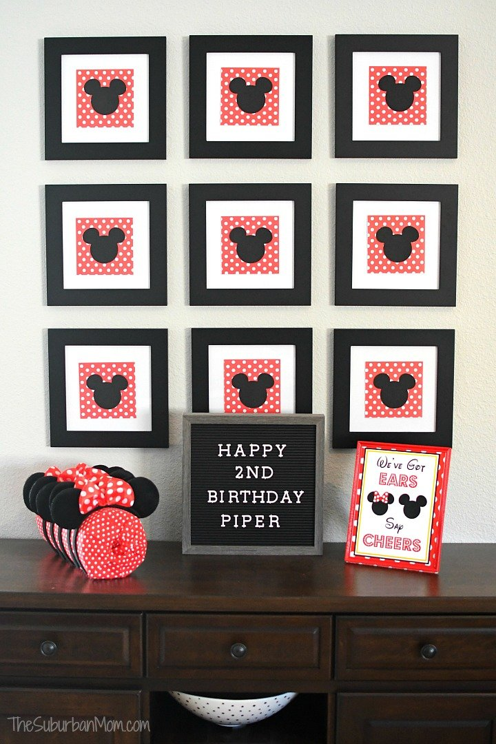 Polka Dot Minnie Mouse Party Decorations