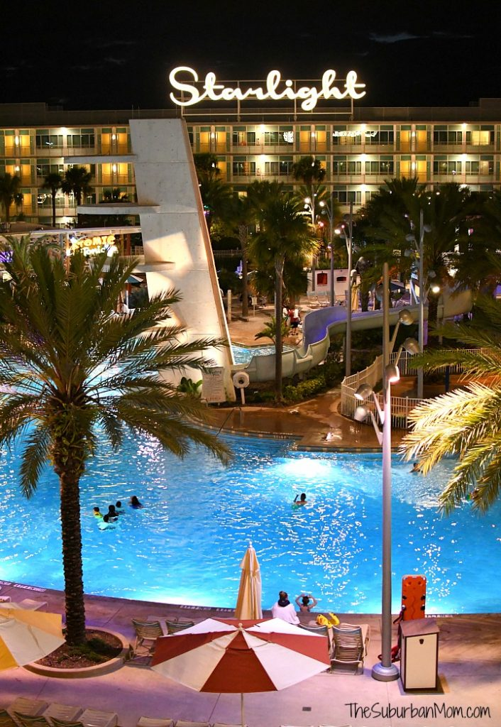 Cabana Bay Resort Night