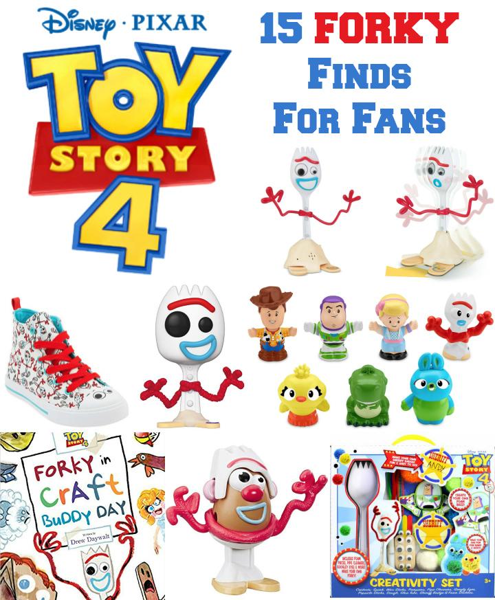 15 Forky Finds Toy Story 4